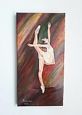 Obrazy - Baletka Lea, 20 x 40 cm - 12905381_