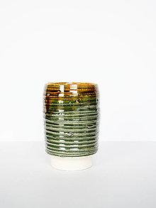 Dekorácie - Zelená váza - 12904703_