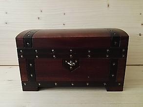 Krabičky - Šperkovnica  s  čalúnením - 12904187_