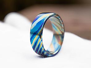 Prstene - prsteň Timascus - 12904794_