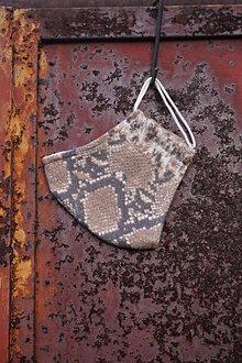 Rúška - Rúško - Hadí vzor - 12906455_