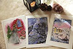 Obrazy - Havrany v šípkových hmlách Art Print - 12906222_