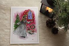 Obrazy - Klára a princ Luskáčik Art Print - 12906332_