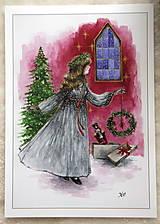 Obrazy - Klára a princ Luskáčik Art Print - 12906333_