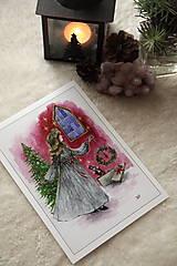 Obrazy - Klára a princ Luskáčik Art Print - 12906334_