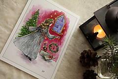 Obrazy - Klára a princ Luskáčik Art Print - 12906335_