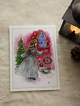 Obrazy - Klára a princ Luskáčik Art Print - 12906338_