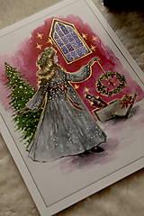 Obrazy - Klára a princ Luskáčik Art Print - 12906339_