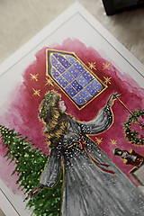 Obrazy - Klára a princ Luskáčik Art Print - 12906341_