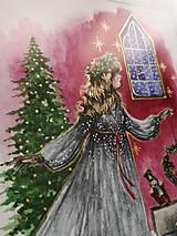 Obrazy - Klára a princ Luskáčik Art Print - 12906344_