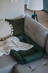 """Textil - Hniezdo pre bábätko """"Zelené"""" - 12905329_"""