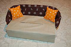 Úžitkový textil - gaučík - 12904411_