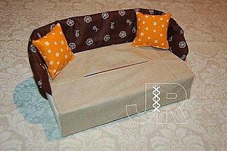 Úžitkový textil - gaučík - 12904402_