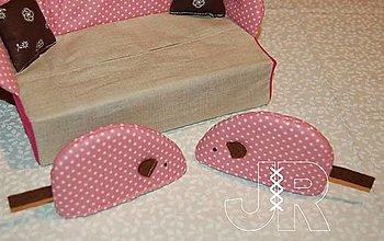 Úžitkový textil - myška romantik - 12904536_