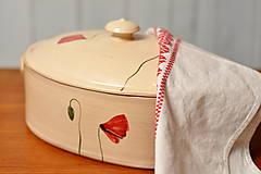 Nádoby - Forma na pečenie chleba- Vlčí mak - 12909314_