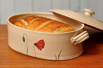 Nádoby - Forma na pečenie chleba- Vlčí mak - 12909311_