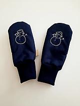 Detské doplnky - Nepremokavé rukavice s barančekom zateplené (15cm) - 12909142_