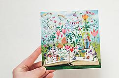"""- Pohľadnica """"Kniha zázrakov"""" - 12909824_"""