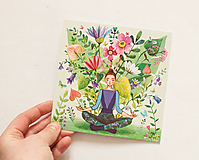 "- Pohľadnica ""Medituj"" - 12910135_"