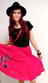 Sukne - Red - 12909719_