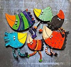 Dekorácie - Vtáčiky - 12912575_