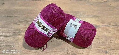 Galantéria - Dora  (103 - purpurová) - 12912461_