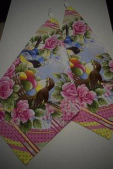 Úžitkový textil - UTĚRKY ..velikonoční - 12914303_