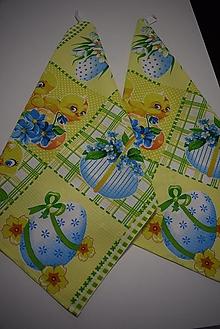 Úžitkový textil - UTĚRKY ..velikonoční - 12914315_
