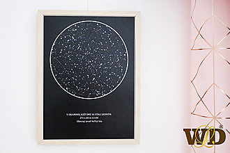 Dekorácie - Hviezdna obloha - 12915211_