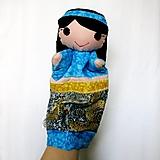 Hračky - Maňuška arabská dievčinka Jasmína / Fatima - 12916476_