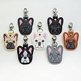 Kľúčenky - Kľúčenka psík buldoček - 12912570_