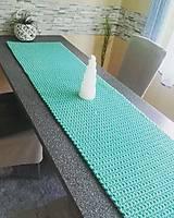 Úžitkový textil - Prestieranie štóla Scandinavia mentolova - 12913705_