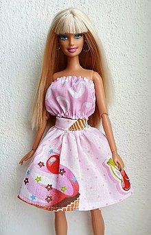Hračky - Srdiečkový top pre Barbie - 12916005_