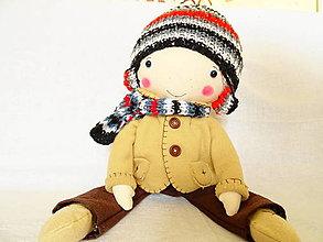 Hračky - Vincko - bábika chlapec - 12915922_