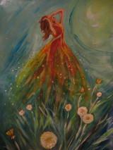 Obrazy - Lúčna tanečnica - 12914612_