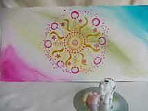 Kresby - Mandala svetla - 12912234_