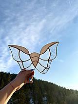 Dekorácie - Zavesná dekorácia motýľ - 12913232_