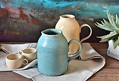 Nádoby - Kameninový džbán - 12916040_