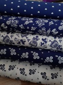 Textil - Modrý folklór - 12914246_
