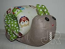 Hračky - sovičkový slimák - 12914151_