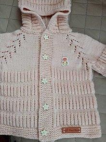 Detské oblečenie - Svetrík s kapucňou - 12918185_
