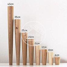Nábytok - Nábytková noha kónická 10cm, buk - 12917620_