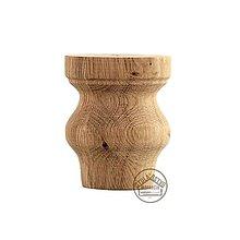 Nábytok - Nábytková noha 10cm (dub) - 12917738_