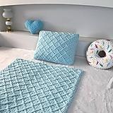 Textil - * Ľadovo modrý set * pre malého princa : z Puffy Fine - 12918627_