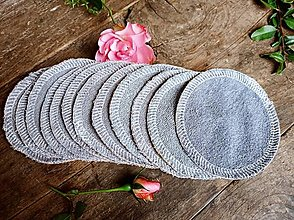 Úžitkový textil - Tamponiky odličovacie 15 ks Bambusové froté - 12916654_