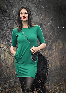 Šaty - Šaty Greenie - 12916967_