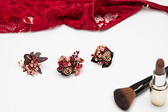 """Prstene - Kvetinový prstienok """"sladké pokušenie""""- valentínska edícia - 12917370_"""