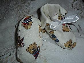 Detské topánky - Papučky. - 12919519_