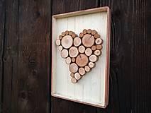 Dekorácie - Obraz - srdce - 12921026_