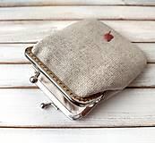 Peňaženky - Peňaženka M Lístky - 12916915_